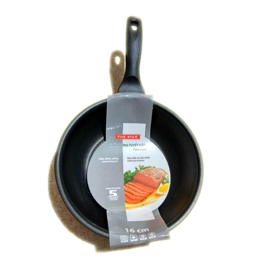 Chảo chống dính Inox 3 đáy Fivestar dùng bếp từ