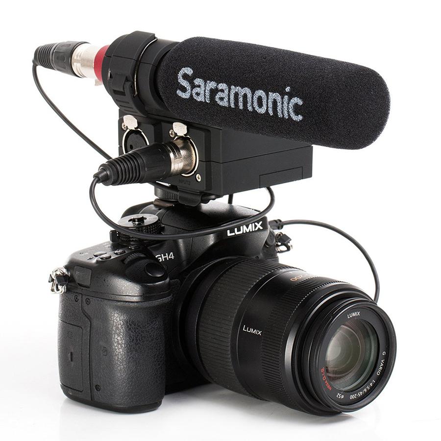 Micro Thu Âm Saramonic SR-NV5 - Hàng Chính Hãng
