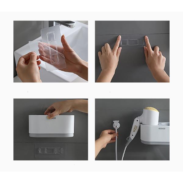 Kệ để máy sấy tóc đa năng trong nhà tắm E1811