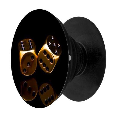 Popsocket mẫu  vàng đen 1 - Hàng chính hãng