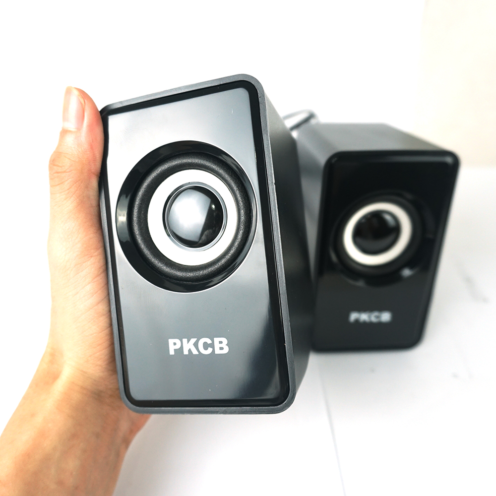 Loa nghe nhạc vi tính điện thoại âm bass trầm mạnh mẻ PKCB PF7 - Hàng chính hãng