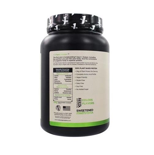 Sữa tăng cơ Rule 1 Plant Protein 20 servings - 760g