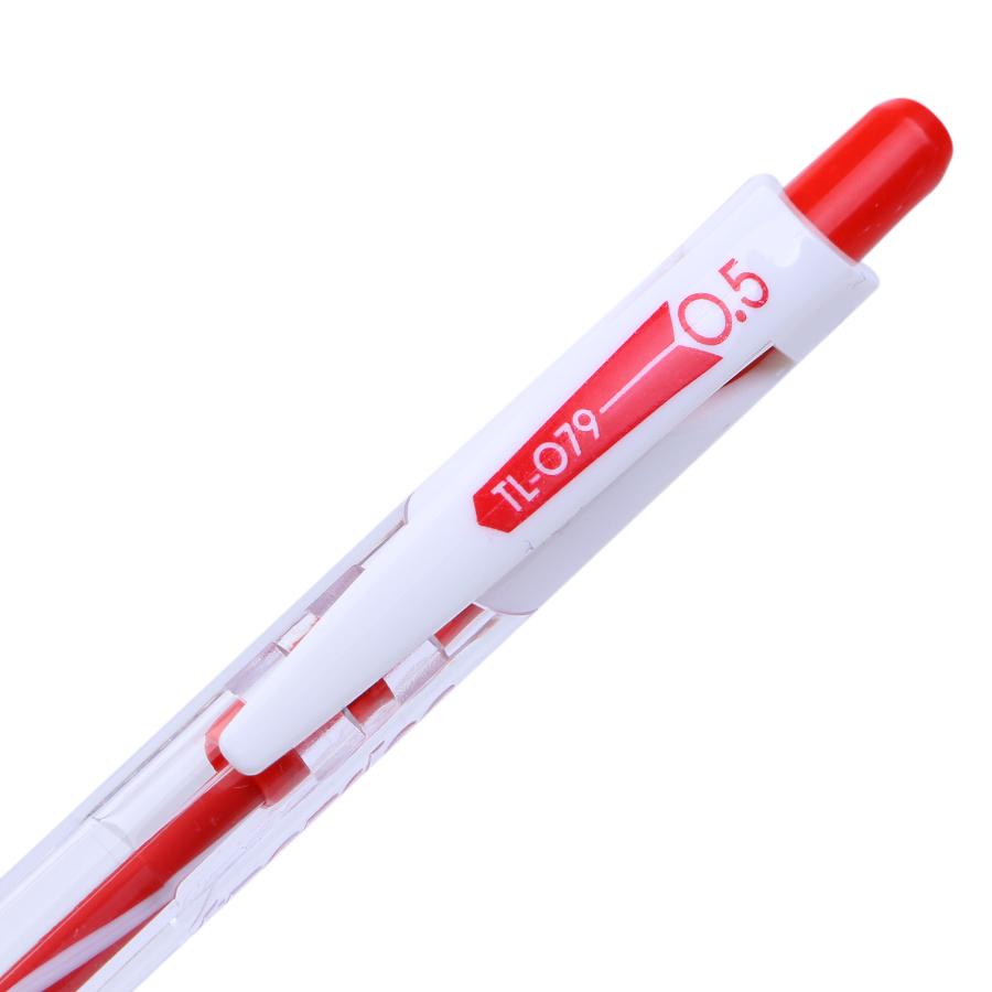 Vỉ 5 Bút Thiên Long TL-079 Treedee - Đỏ