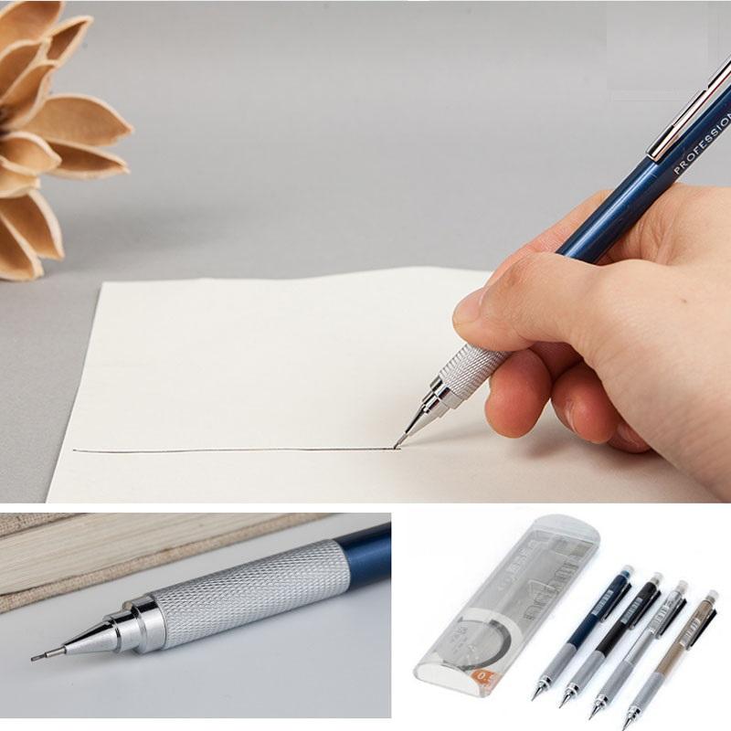 Bút chì cho kỹ thuật vẽ thân kim loại M&G AMPH7201   AMPH7202 (ngòi 0,7mm)