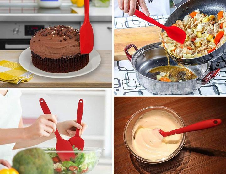 Bộ dụng cụ 6 món Silicone làm bánh và nhà bếp