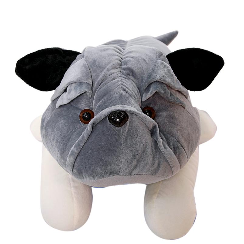 Gấu bông chó mặt xệ Pitbull siêu to khổng lồ size 1m2