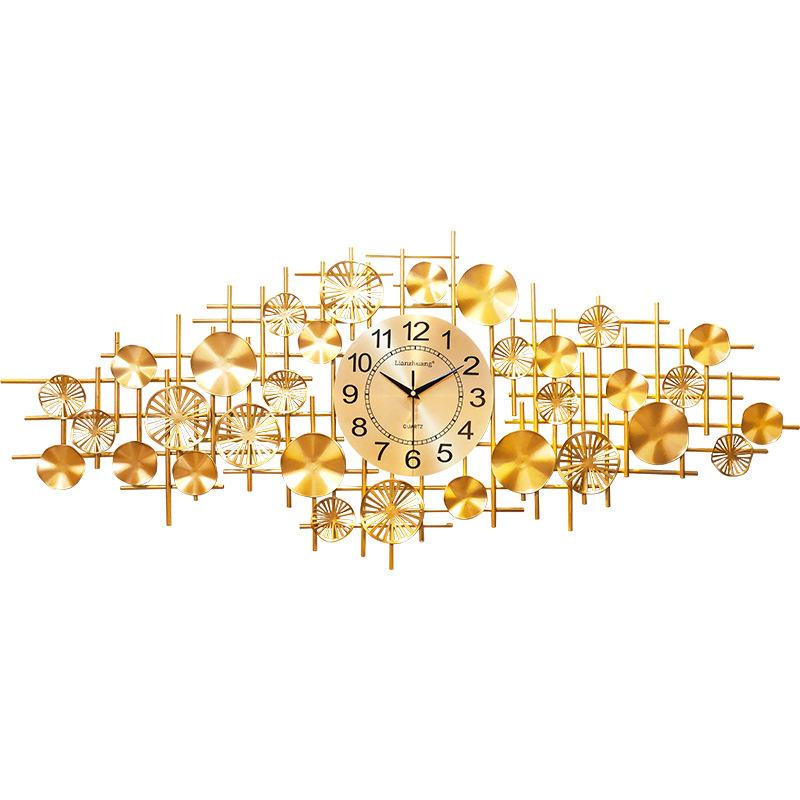 Bộ đồng hồ treo tường trang trí hoa tròn nằm ngang, phong cách hiện đại,sang trọng,thích hợp dùng trong phòng khách,phòng ngủ,dùng làm quà tân gia,quà tặng bạn bè