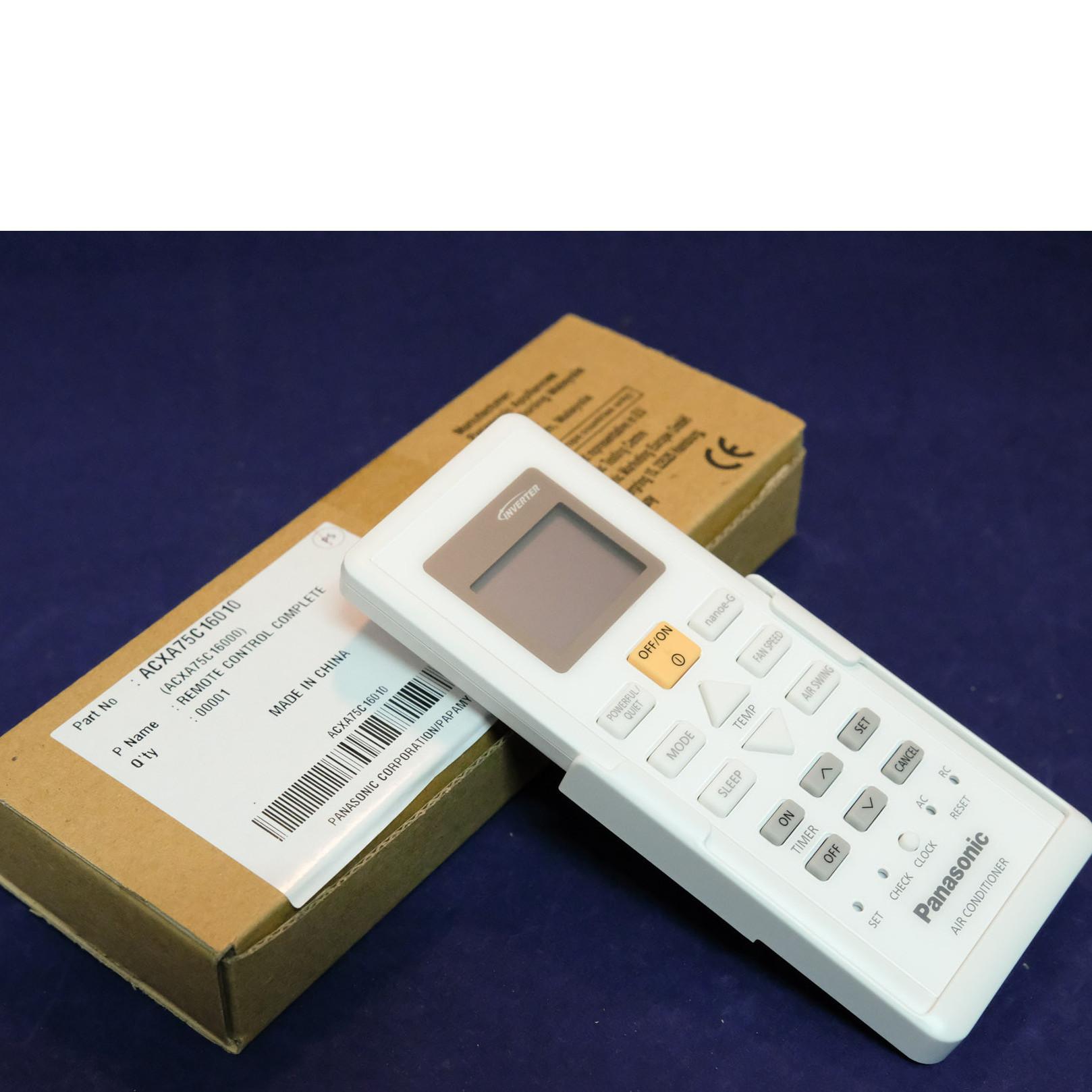 Điều khiển điều hoà Panasonic Model CS-PU9VKH-8- Hàng chính hãng