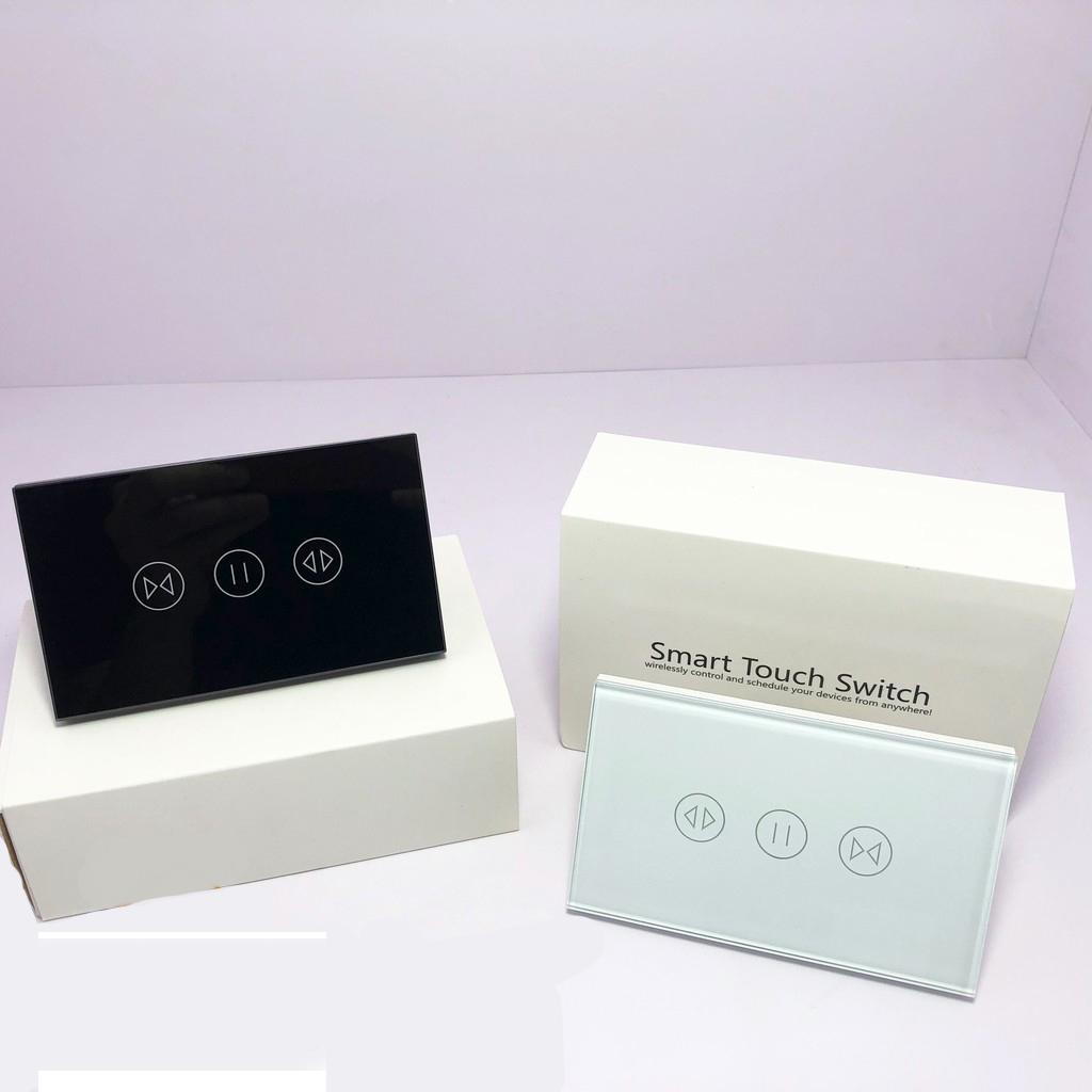 Công tắc cửa cuốn thông minh  Tuya  điều khiển  từ xa qua điện thoại Màu trắng và đen