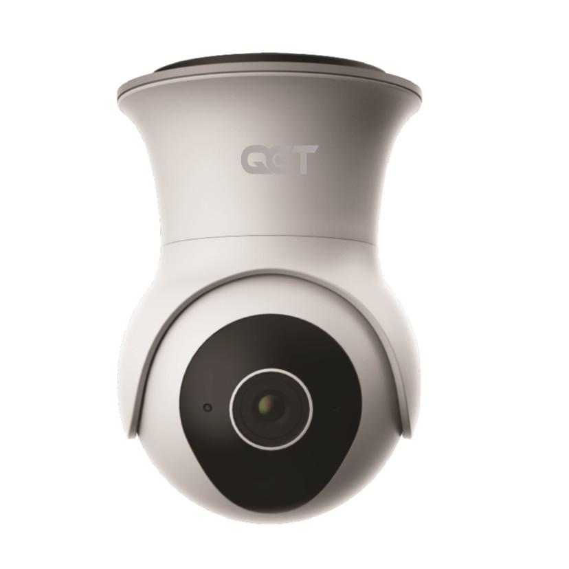 Camera ngoài trời IP xoay 360 độ QCT Gen 2 QCTRN002 Bộ nhớ trong 64GB - Hàng Nhập Khẩu