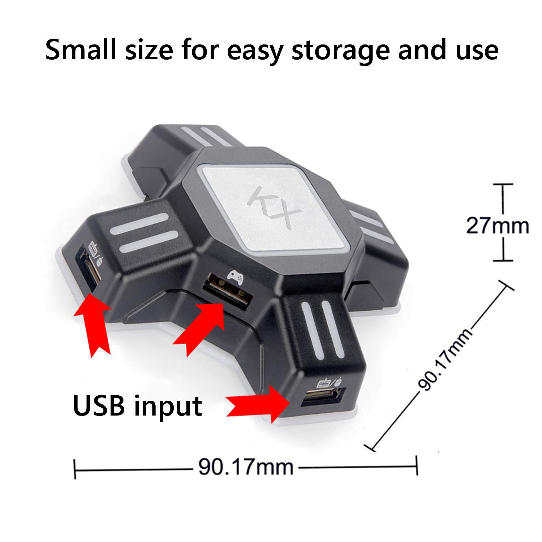 Bộ chuyển đổi bàn phím và chuột chơi game trên PS3/PS4/ XBOX/ Switch - KX-ADAPTER