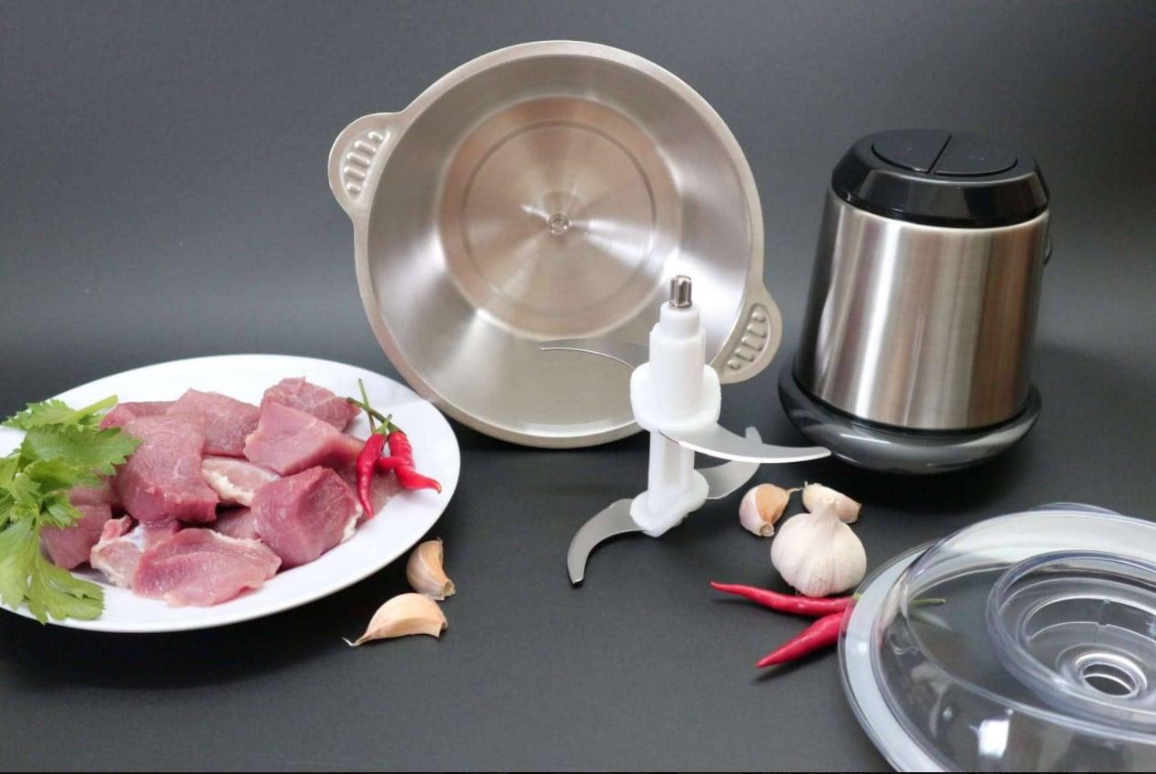 Máy xay thịt, thực phẩm đa năng xay được tất cả thực phẩm với tốc độ xay nhanh khỏe tiện dụng
