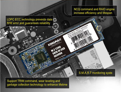 Ổ cứng SSD KINGMAX 128GB M.2 2280 SATA 3 (SA3080)-1