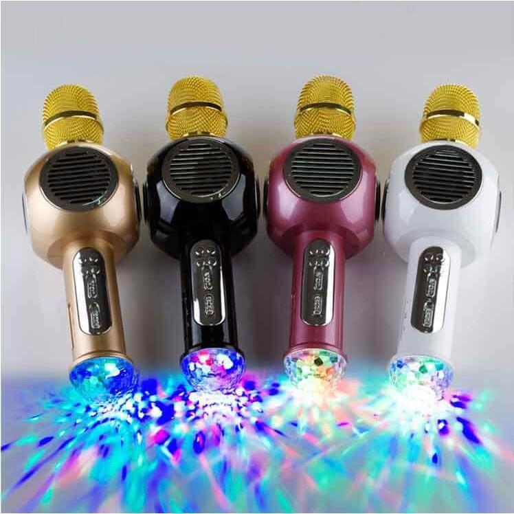 Mic hát karaoke M8 (màu ngẫu nhiên)