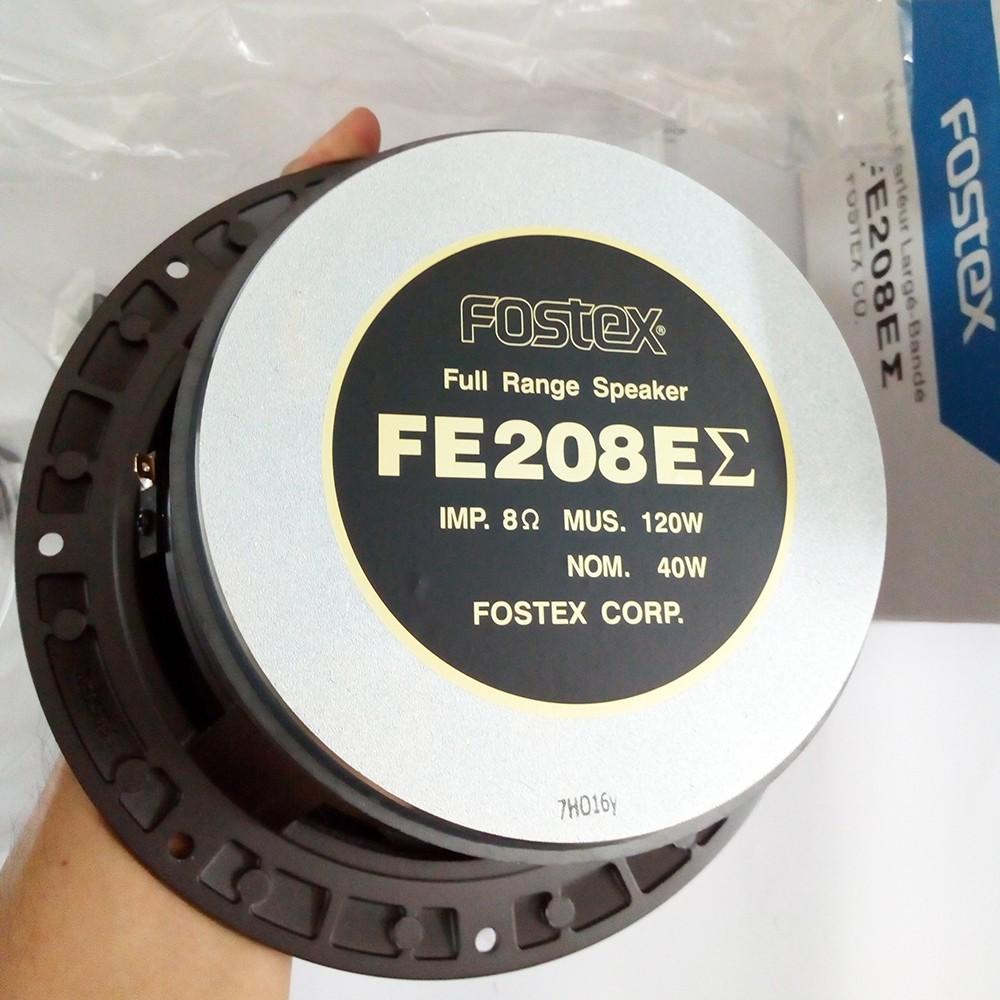 Toàn dải 20cm Fostex FE208EZ (Sigma) Hàng chính hãng