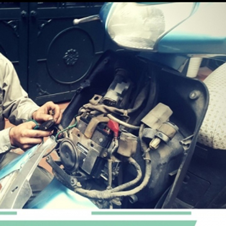 IC điện 4 chân đa năng KAFADAI THAILAND cho xe máy (Không cần dùng cuộn lửa)