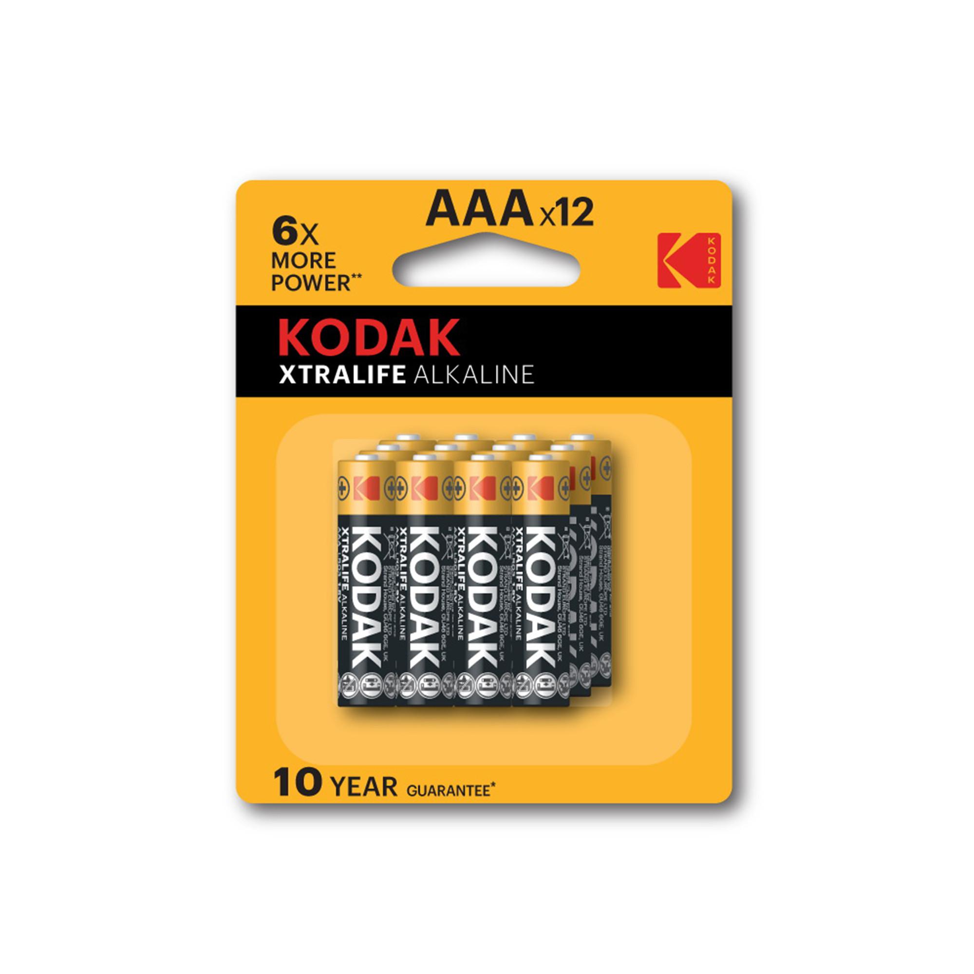 Bộ 12 Pin Kodak Alkaline AAA UBL IB0221