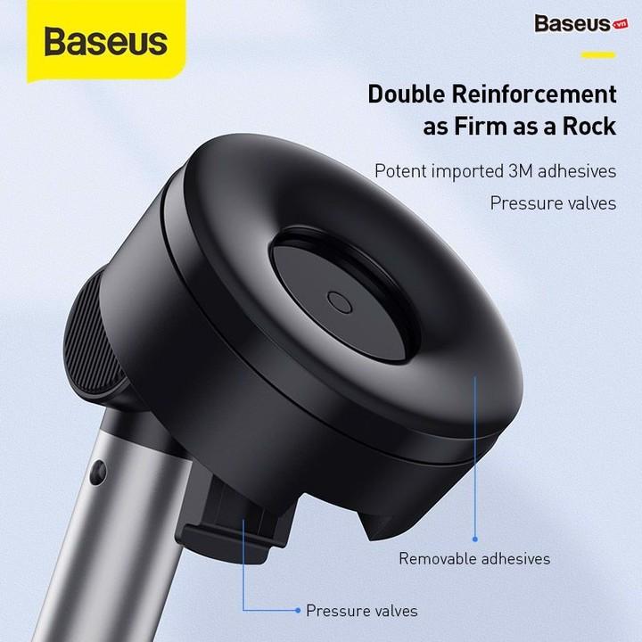 Gía đỡ điện thoại gắn taplo hoặc kính lái ô tô nhãn hiệu Baseus SUYL-JY01 - Hàng Nhập Khẩu