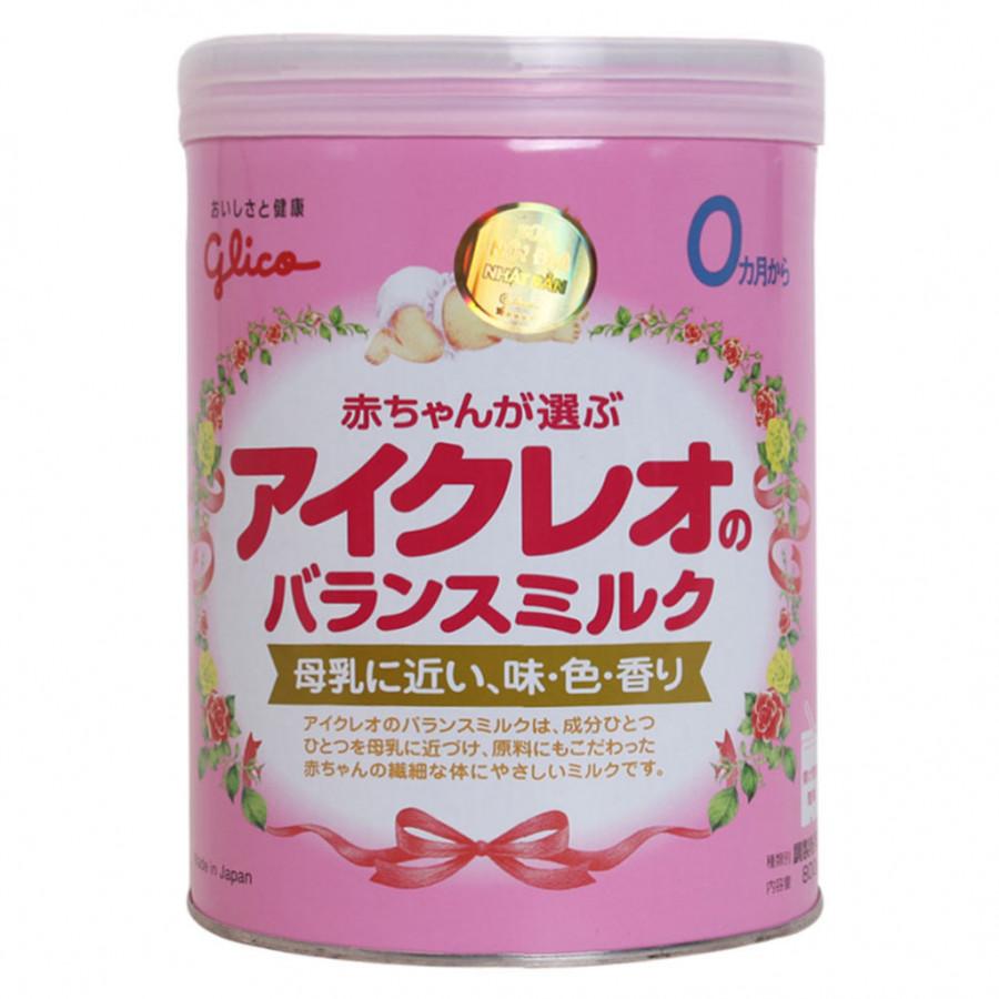 Sữa Glico Icreo Số 0 (800g)