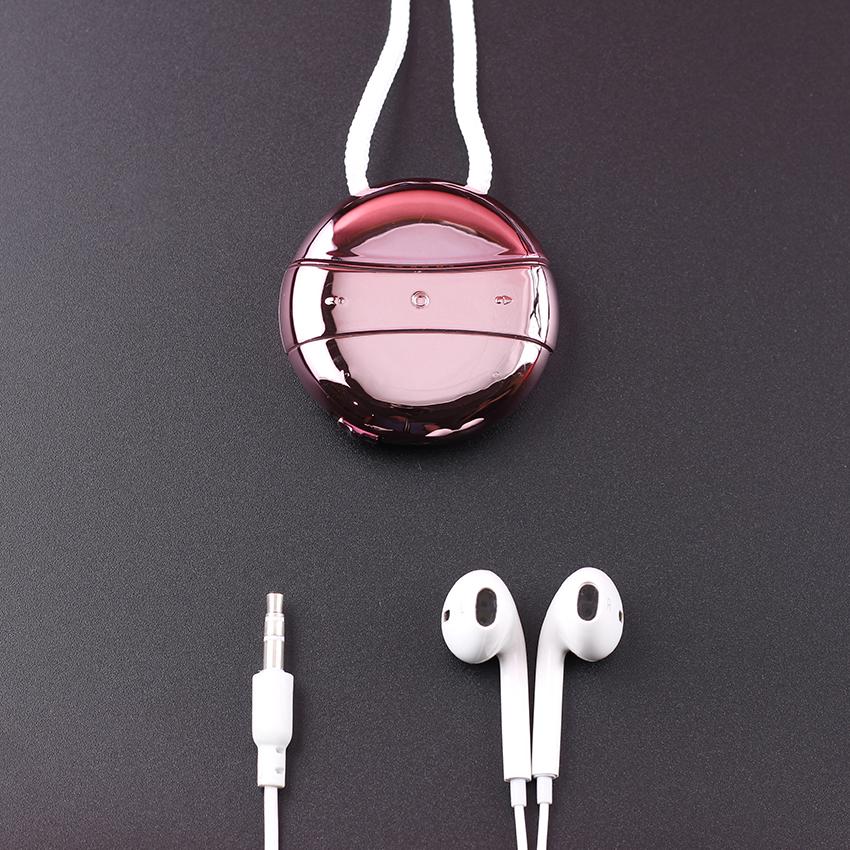 Máy nghe nhạc mp3 JS-05 hình tròn bộ nhớ trong 8GB tặng tai nghe