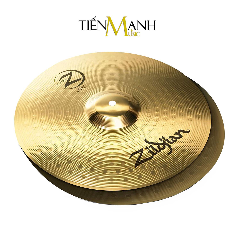 [Chính Hãng USA] Bộ 4 Lá Cymbal Zildjian Planet Z PLZ4PK Set-up (14-16-20) - Kèm Móng Gẩy DreamMaker