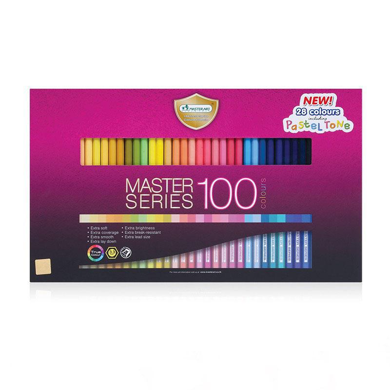 Bộ bút chì màu cao cấp Master Art Series 100 màu (Thái Lan)