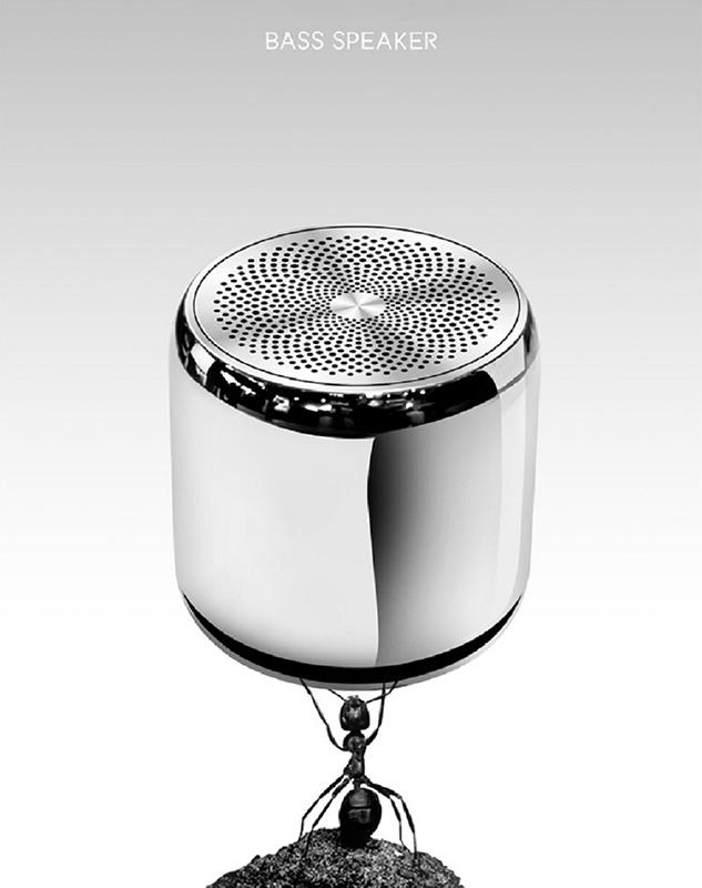 Loa Bluetooth Công Suất 3W Siêu Nhỏ Gọn