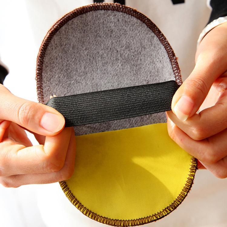Găng Tay Lau Chùi Giày Có Thể Sử Dụng Để Đánh Giày Da Với Xi (Giao Màu Ngẫu Nhiên)