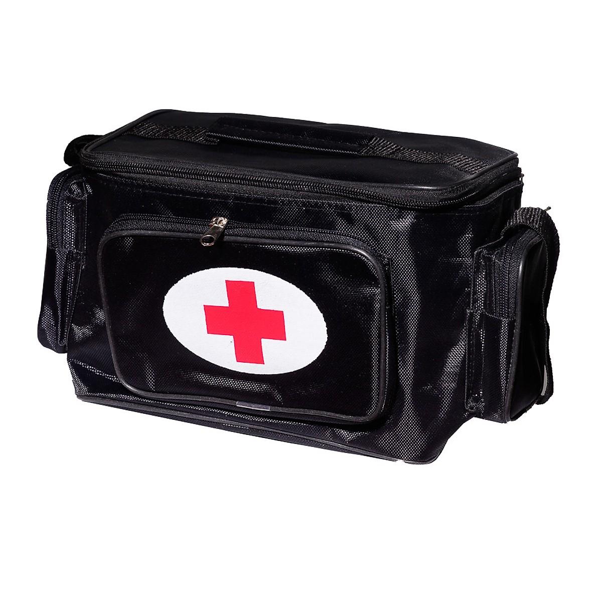 Túi y tế đen size S