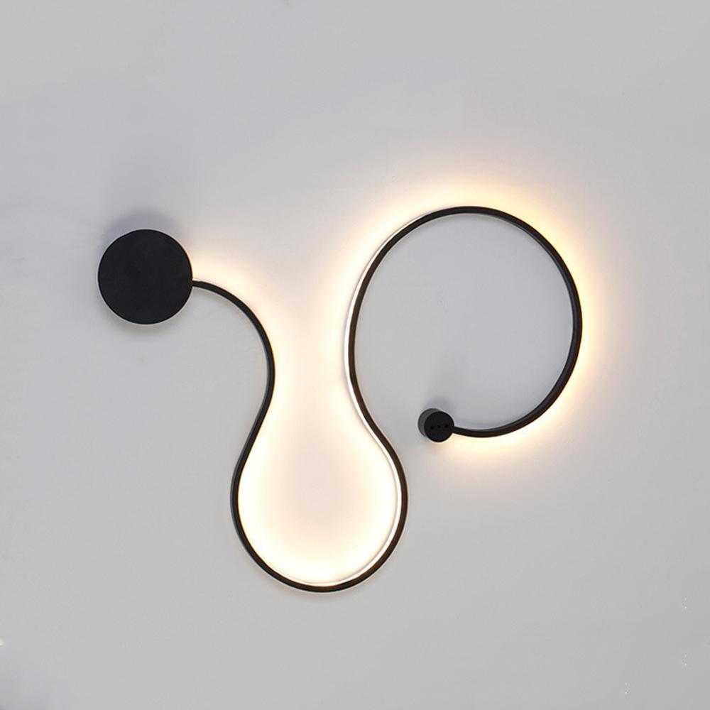 Modern Style Led Acrylic Chandelier Ceiling Light Wall Lamp Decoration Light for Home Living Room Bedroom - Black - A Warm Light - 23937330 , 3255459941719 , 62_27570080 , 1628000 , Modern-Style-Led-Acrylic-Chandelier-Ceiling-Light-Wall-Lamp-Decoration-Light-for-Home-Living-Room-Bedroom-Black-A-Warm-Light-62_27570080 , tiki.vn , Modern Style Led Acrylic Chandelier Ceiling Light