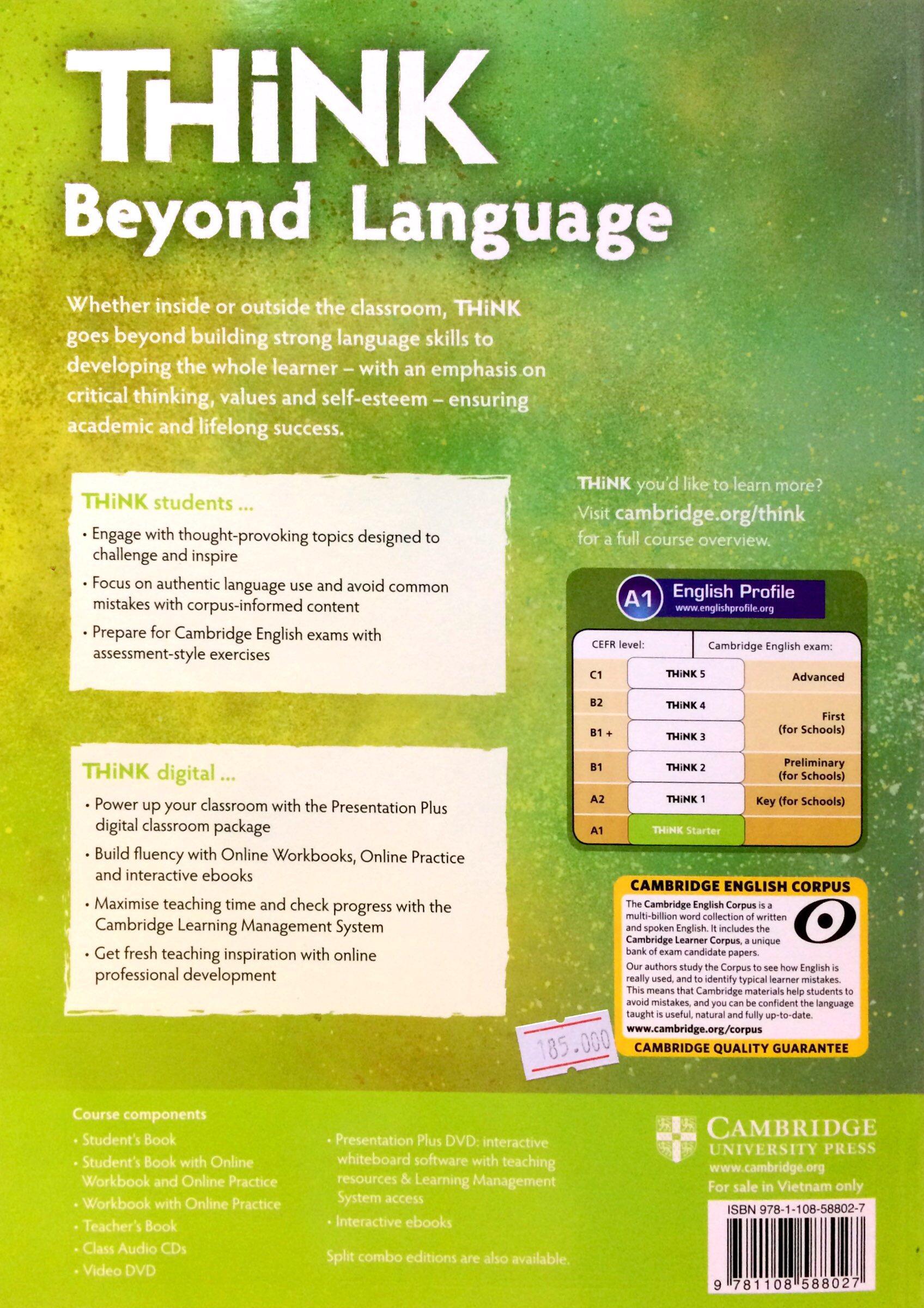 Think Workbook with Online Practice Starter (A1)