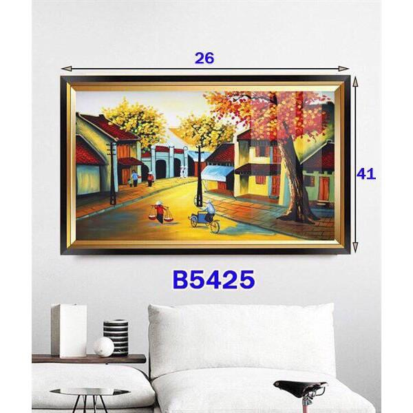 Tranh đèn LED 5D nhiều mẫu, phong cách Châu Âu thích hợp trang trí phòng khách, phòng ngủ hiện đại - Phương Anh