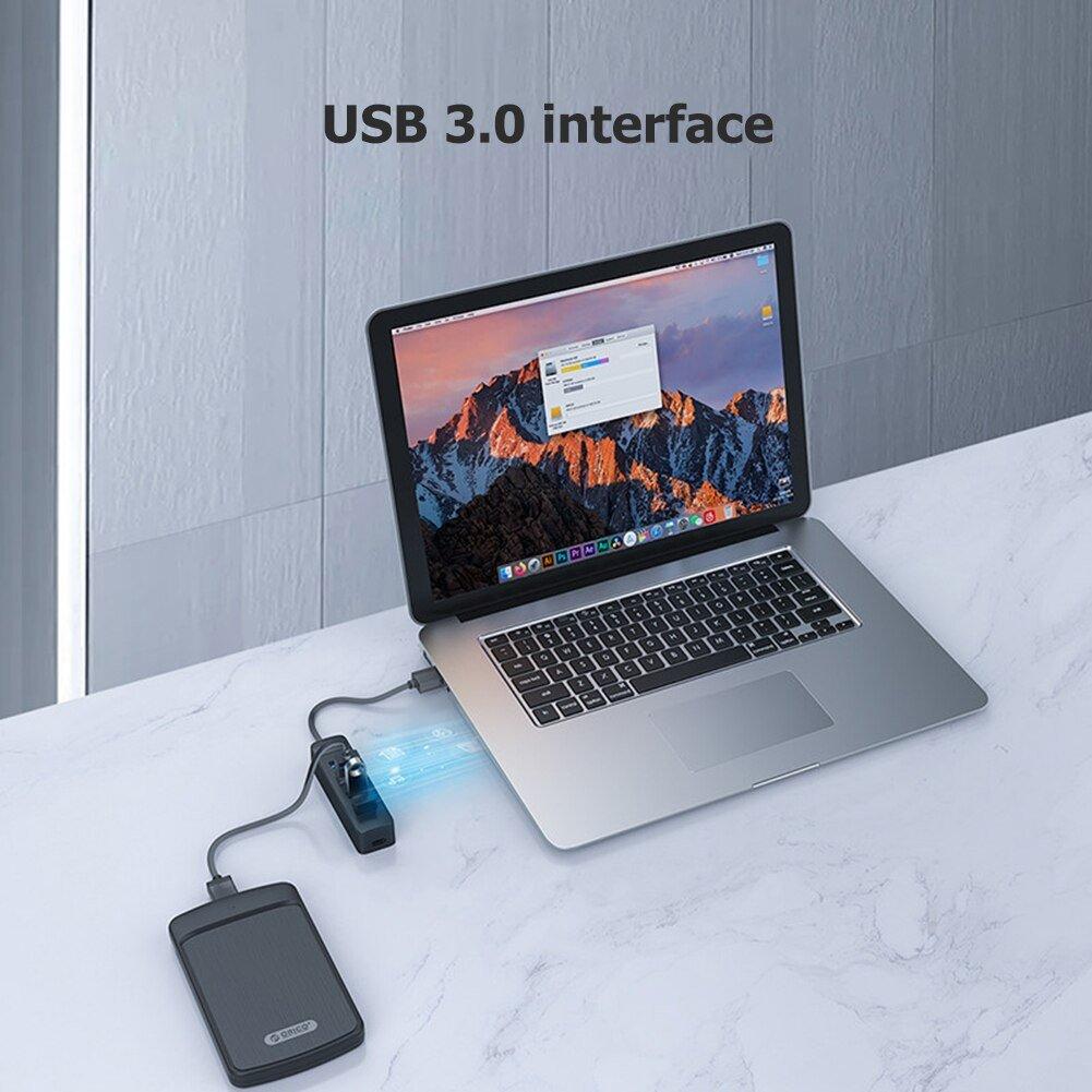 Hub USB 4 Cổng 3.0 TWU3 - 4A Splitter Bộ Mở Rộng PC Đa USB Tốc Độ Cao - hàng chính hãng