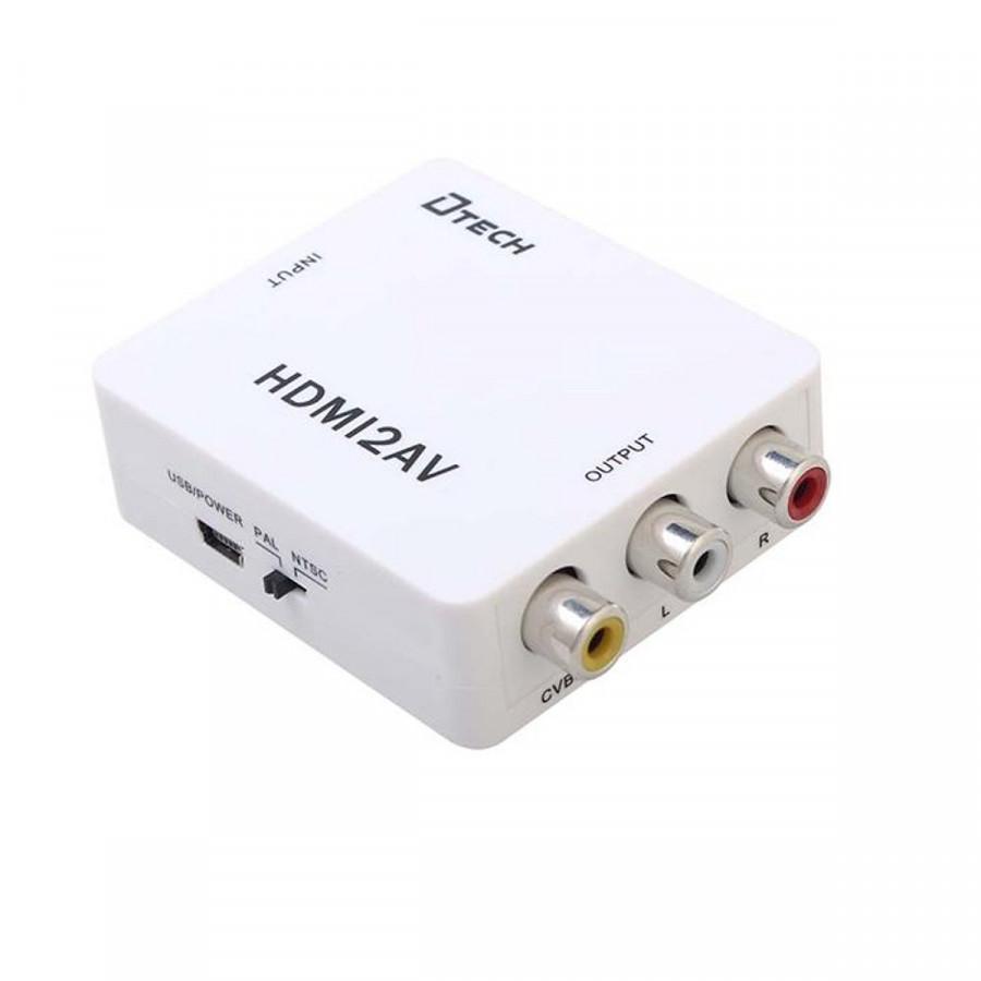 Bộ chuyển tín hiệu HDMI ra AV (covert HDMI to AV)