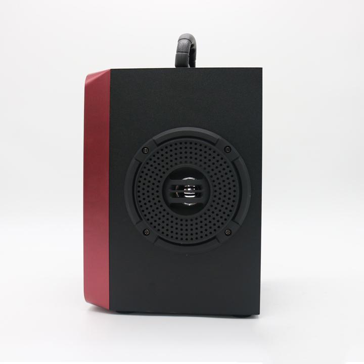 Loa bluetooth MN-03 có đèn sân khấu, bass cực mạnh - kèm micro hát karaoke - Hàng Nhập Khẩu