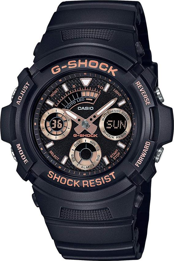 Đồng Hồ Nam Dây Nhựa Casio G-Shock AW-591GBX-1A4DR