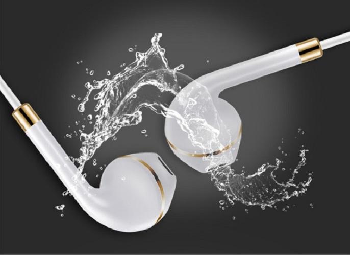 Tai nghe thời trang viền vàng super bass siêu bền  - Hàng nhập khẩu