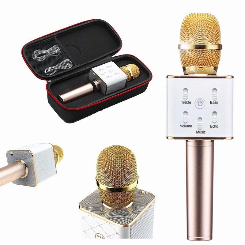 Micro thông minh Q7 có Bluetooth karaoke tích hợp loa 3 trong 1