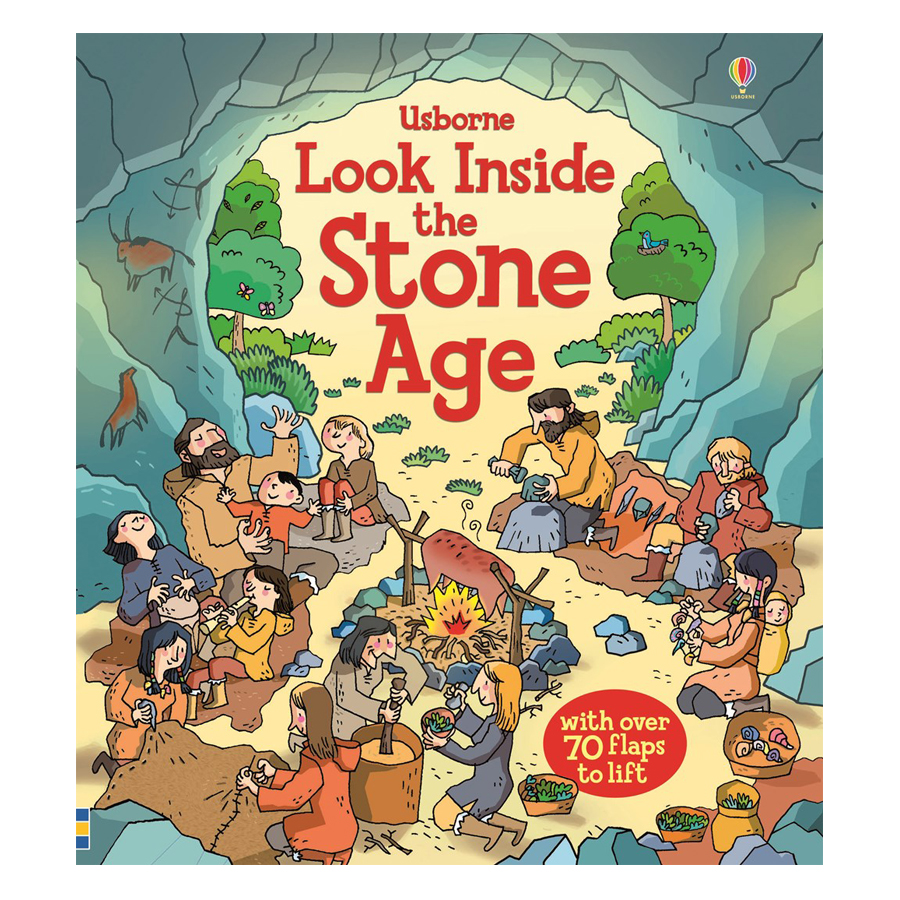 Usborne Look inside Stone Age