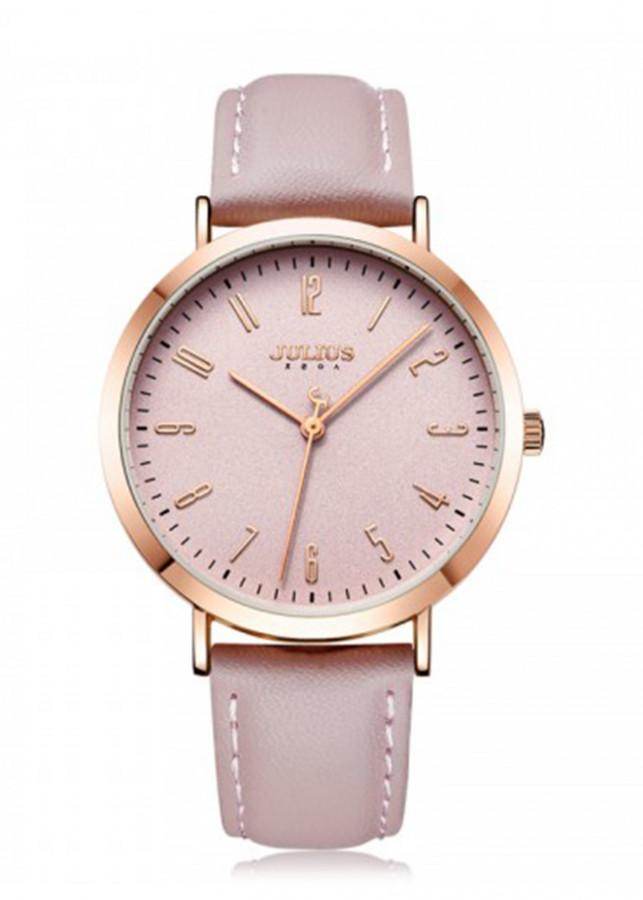 Đồng hồ Julius dây da Hàn Quốc JA-1017