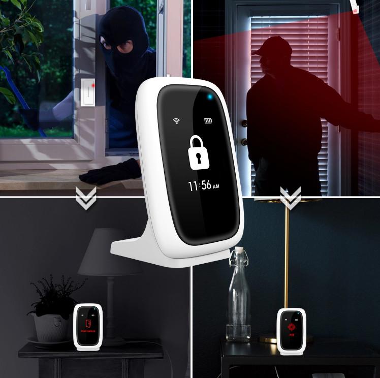 Bộ Báo Động Chống Trộm Không Dây Wifi SHP-CK9