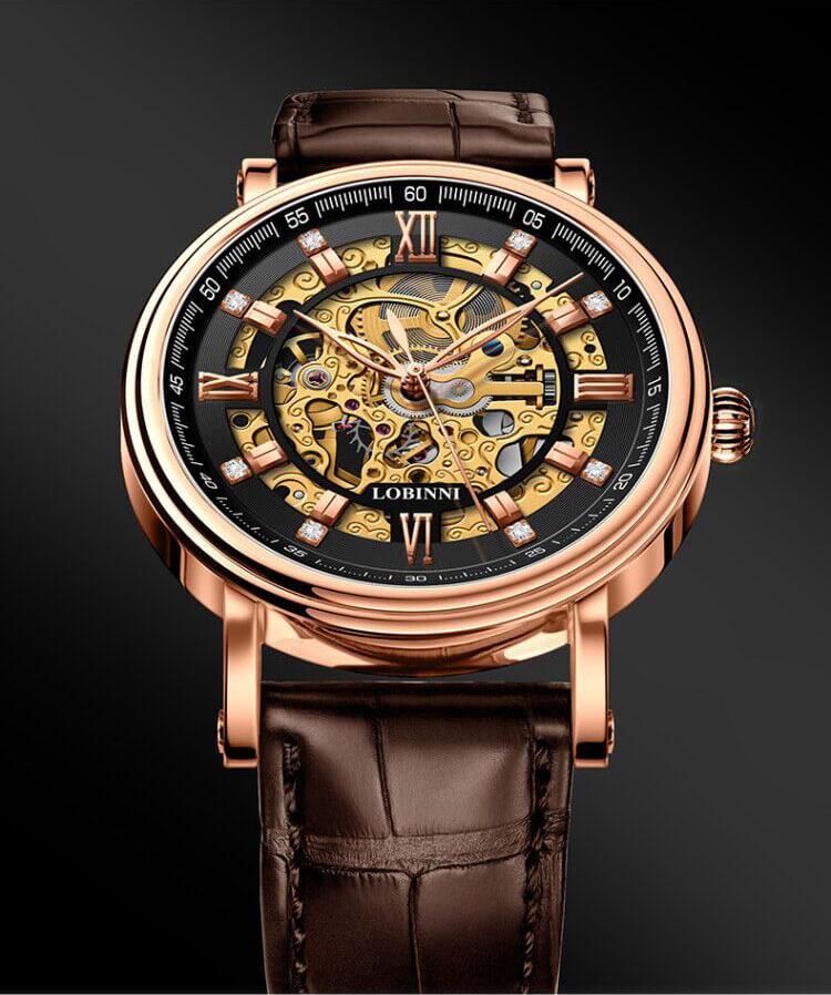 Đồng hồ nam chính hãng Lobinni No.9010-1