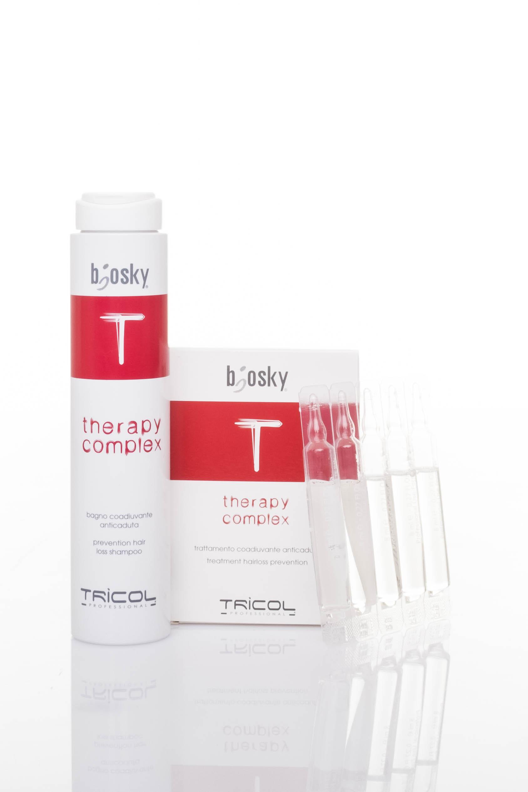 Serum kích thích mọc tóc Tricol Biosky Therapy Complex Fiale 80ML