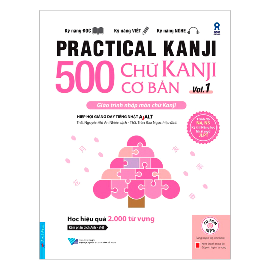 Practical Kanji Vol.1 – 500 Chữ Kanji  Cơ Bản Vol.1