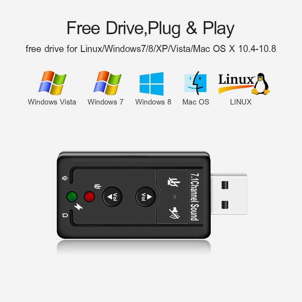 Bộ Chuyển Đổi USB Sound Âm Thanh 3D Taiwan 7.1 AZONE