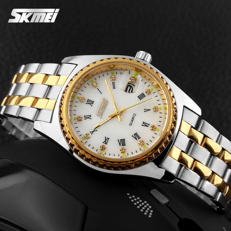 Đồng Hồ Nữ SKMEI SK064 Nữ Vàng