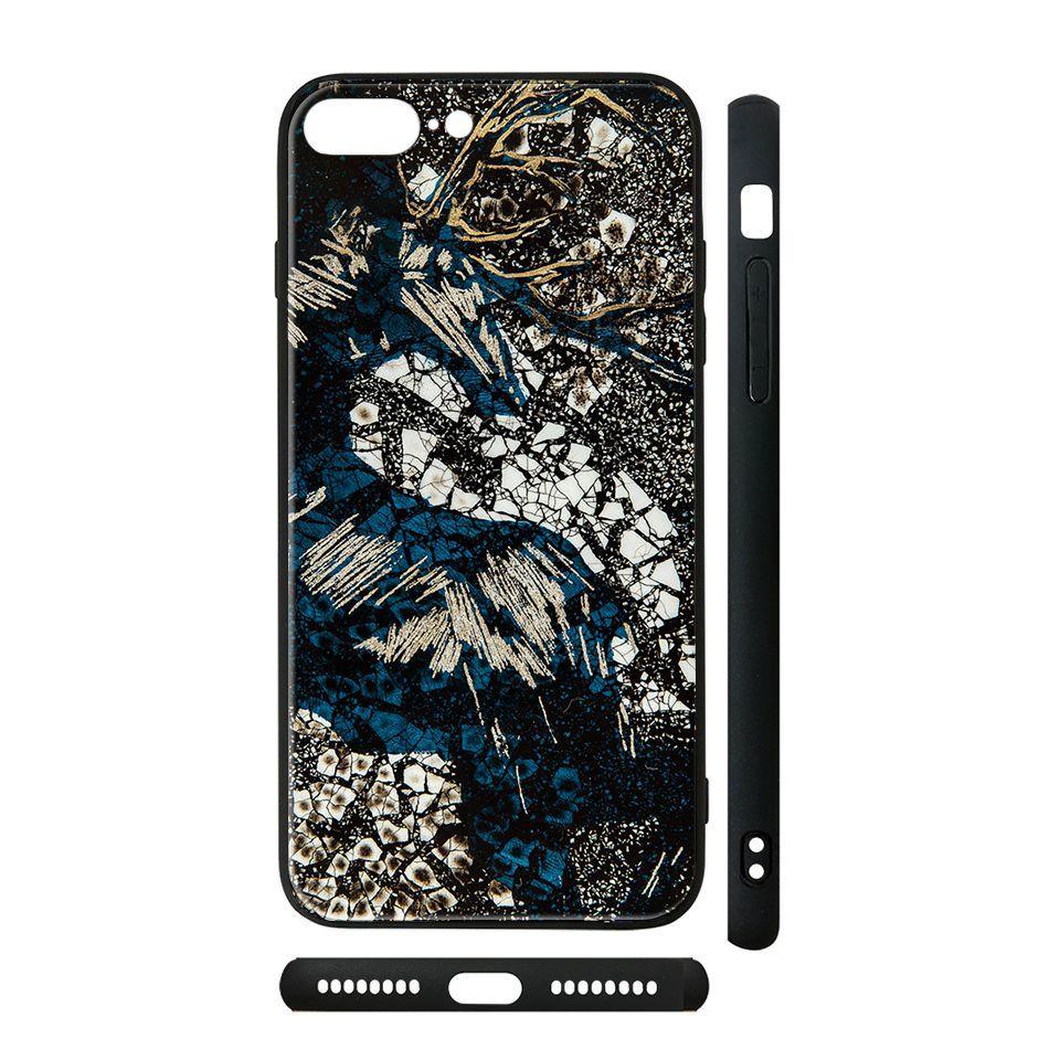 Ốp kính cho iPhone in hình Tuần Lộc Dưới Bóng Rừng - lsm054 có đủ mã máy - iPhone 5 - 5s