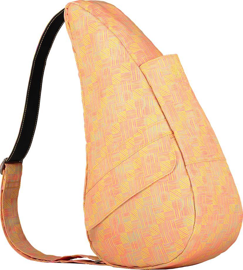 Túi Đeo Chéo Unisex Healthy Back Bag Prints - 6163-YE - Retro Check Yellow