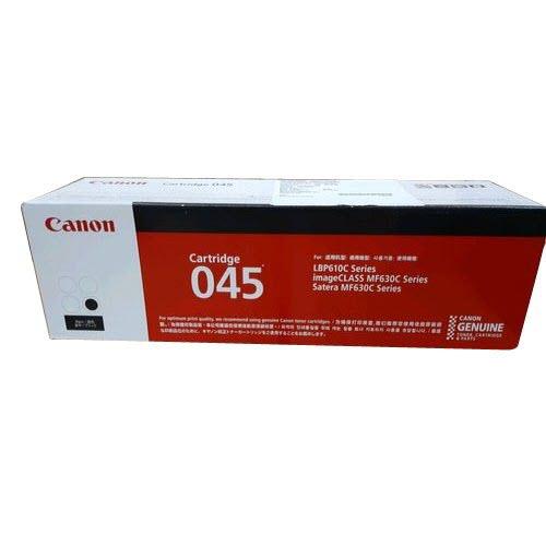 Mực in Canon 045 Black Toner Cartridge dùng cho máy in Canon LBP 611CN, Canon LBP 613CDw, Canon MF 631Cn, Canon MF 633CDw, Canon MF 635Cx - Hàng Chính Hãng