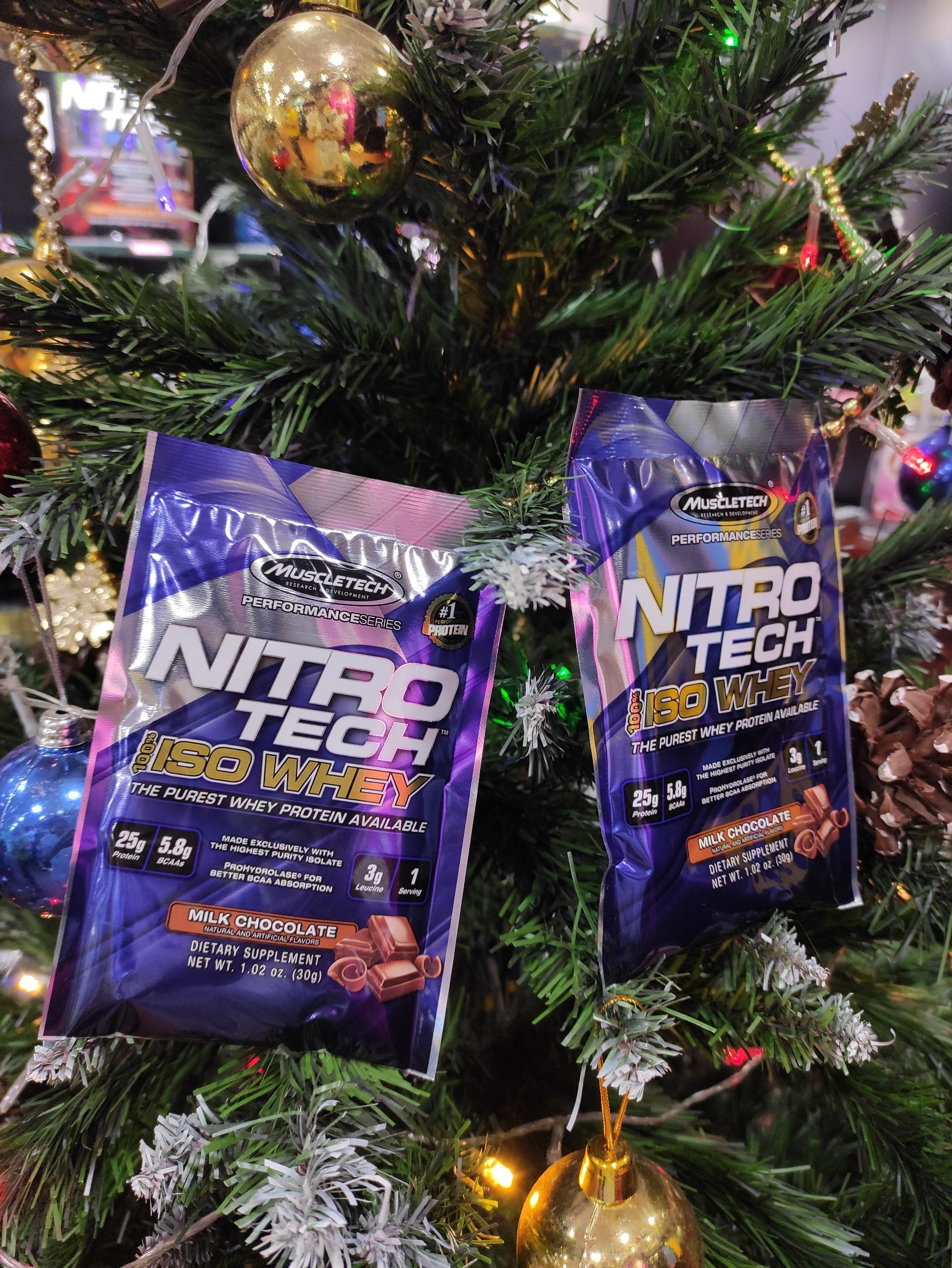Gói mẫu dùng thử 1 lần dùng - Nitro tech Iso Whey - Hãng Muscletech